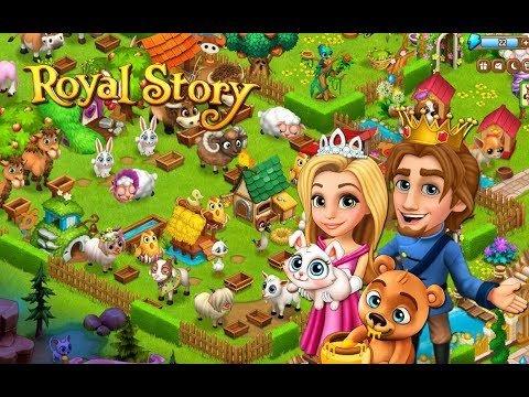 Royal Story Gameplay. Игры про принцесс