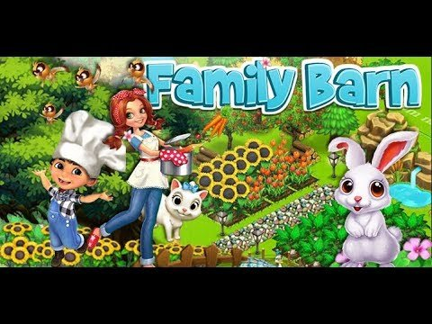 Family Barn Gameplay. Многопользовательские фермы