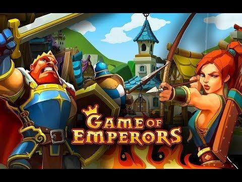 Game of Emperors gameplay. Средневековые стратегии онлайн