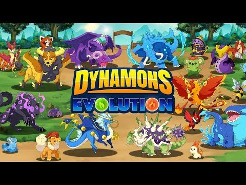 Dynamons Evolution Gameplay. Игры жанра «три в ряд»