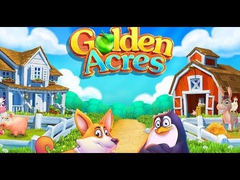 Золотые акры (Golden Acres) геймплей. Браузерная онлайн ферма