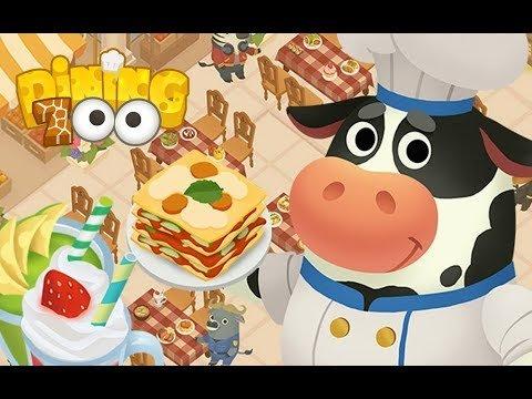 Dining Zoo Gameplay. Игры про ресторан