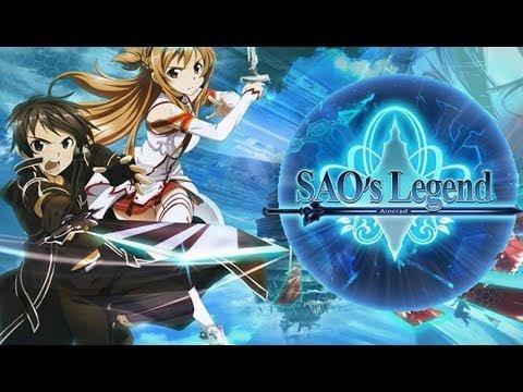 Sao's Legend Gameplay. Новая красивая браузерная игра