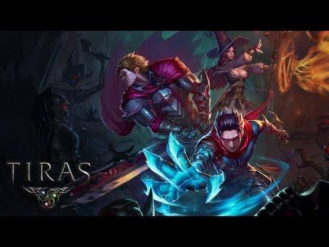 TIRAS геймплей. Новая браузерная экшен РПГ
