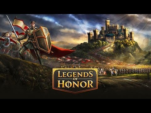 Legends of Honor геймплей. Стратегические онлайн игры