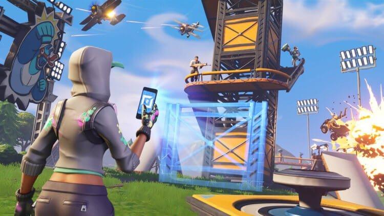 Epic Games хочет официально выложить Fortnite в Google Play