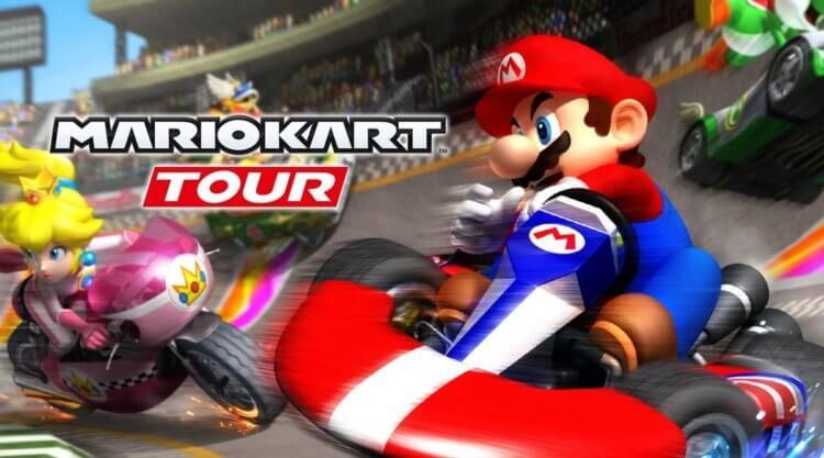 Mario Kart Tour: лучшие автогонки Грибного королевства