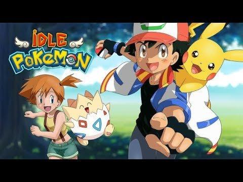 Idle Pokemon геймплей. Игры про покемонов