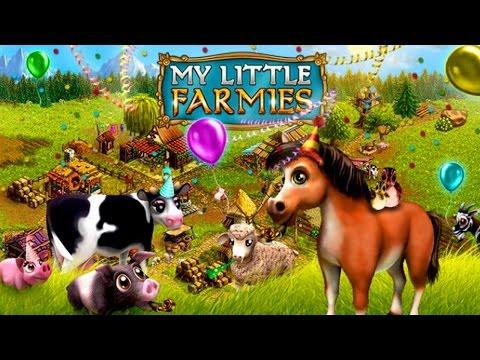Геймплей игры My little Farmies